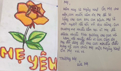 <p>Mother's Day letter</p>